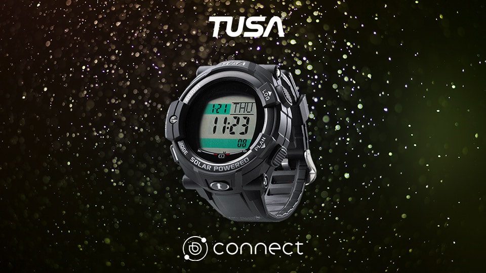 "TUSA Joins the Dive Computer ""Elite Fleet"" through Deepblu Connect"