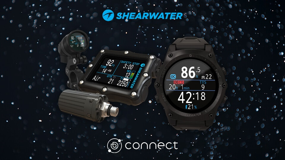 "Shearwater joins the ""Elite Fleet"" through Deepblu Connect"