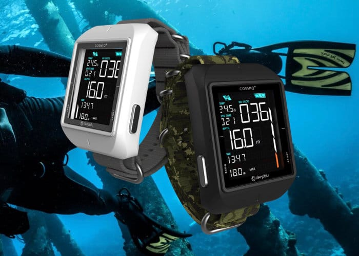Cosmiq+ Dive Watch Computer Now Available For $399
