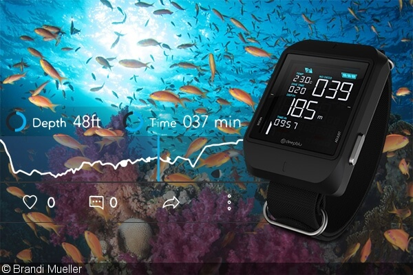 Review of the Cosmiq Dive Computer and Deepblu App – DivePhotoGuide.com