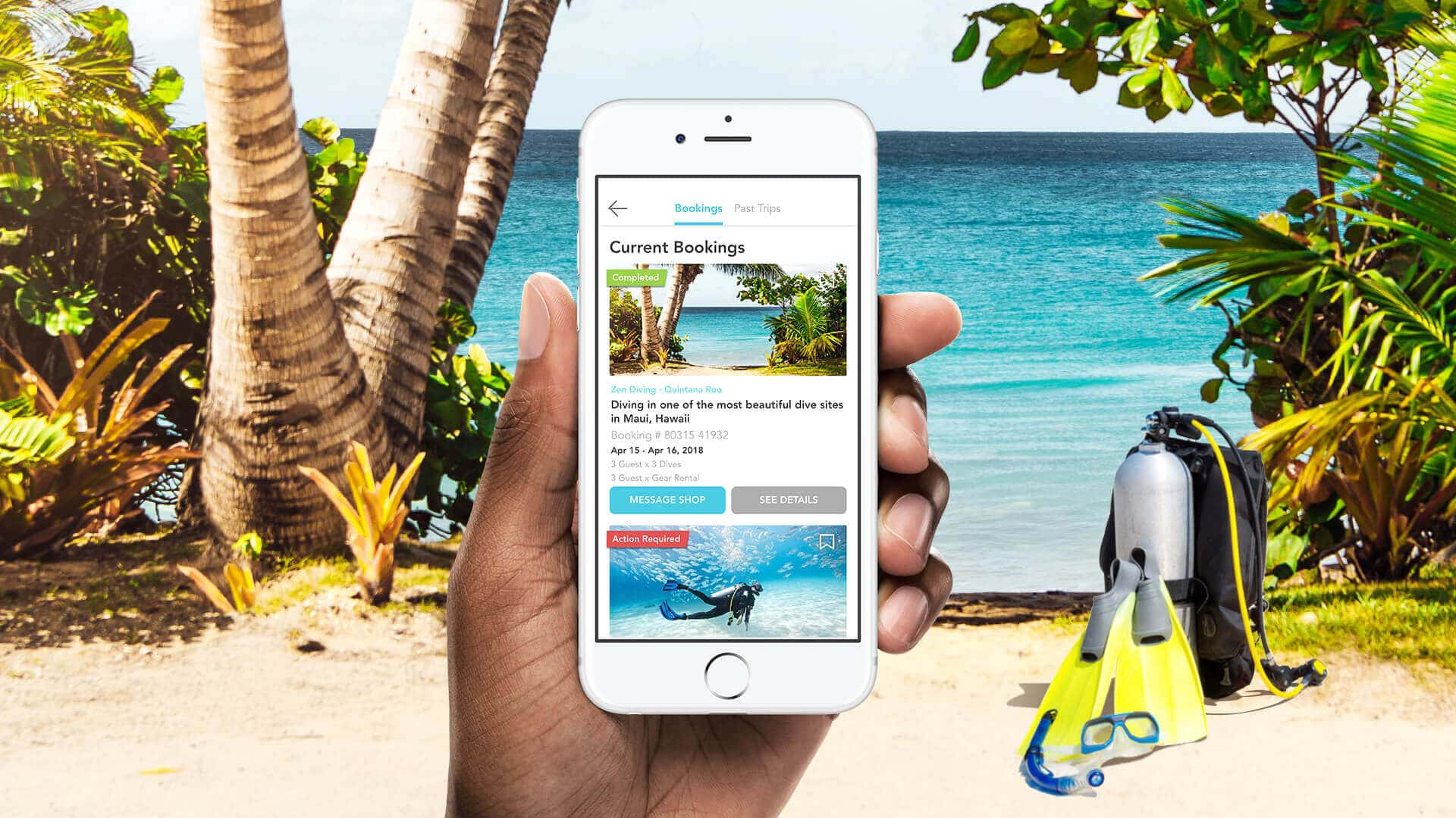 Deepblu Introduces Dive Booking Feature